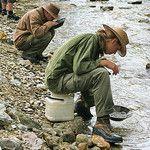 Gold Panning Dawson City
