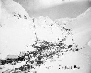 Chilkoot Pass Klondike Gold Rush National Park Skagway Alaska