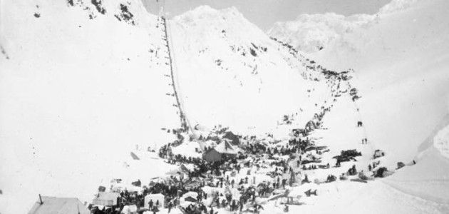 Photo Courtesy/ Murdock, G.G., Library and Archives Canada Chilkoot Pass
