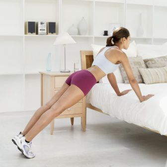 Bed Pushup