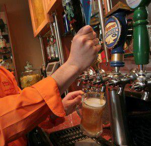 Beer on tap for Alaska Beer and Barleywine Festival on Westmark Hotels Alaska/Yukon