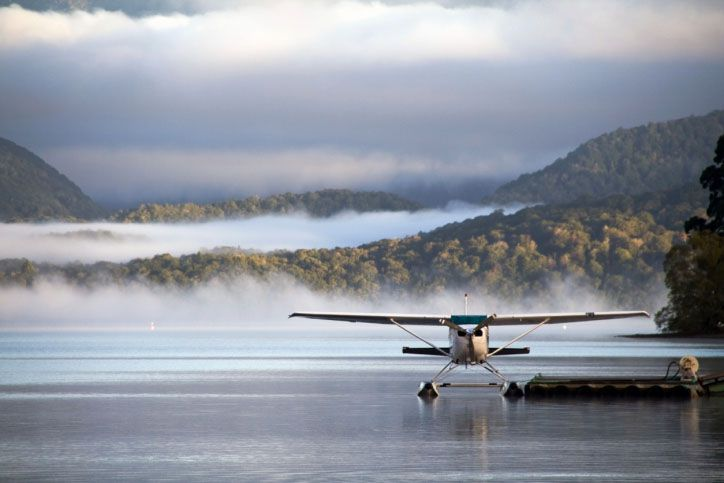 Floatplane on Golovin Bay Alaska - Westmark Hotels