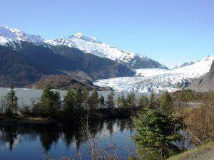 Mendenhall Glacier near Juneau, Alaska Westmark Hotels Alaska & the Yukon