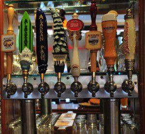 Micro-brews from Great Alaska Beer & Barleywine Festival on Westmark Hotels Alaska/Yukon