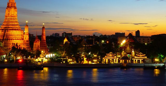 One Night in Bangkok Thailand