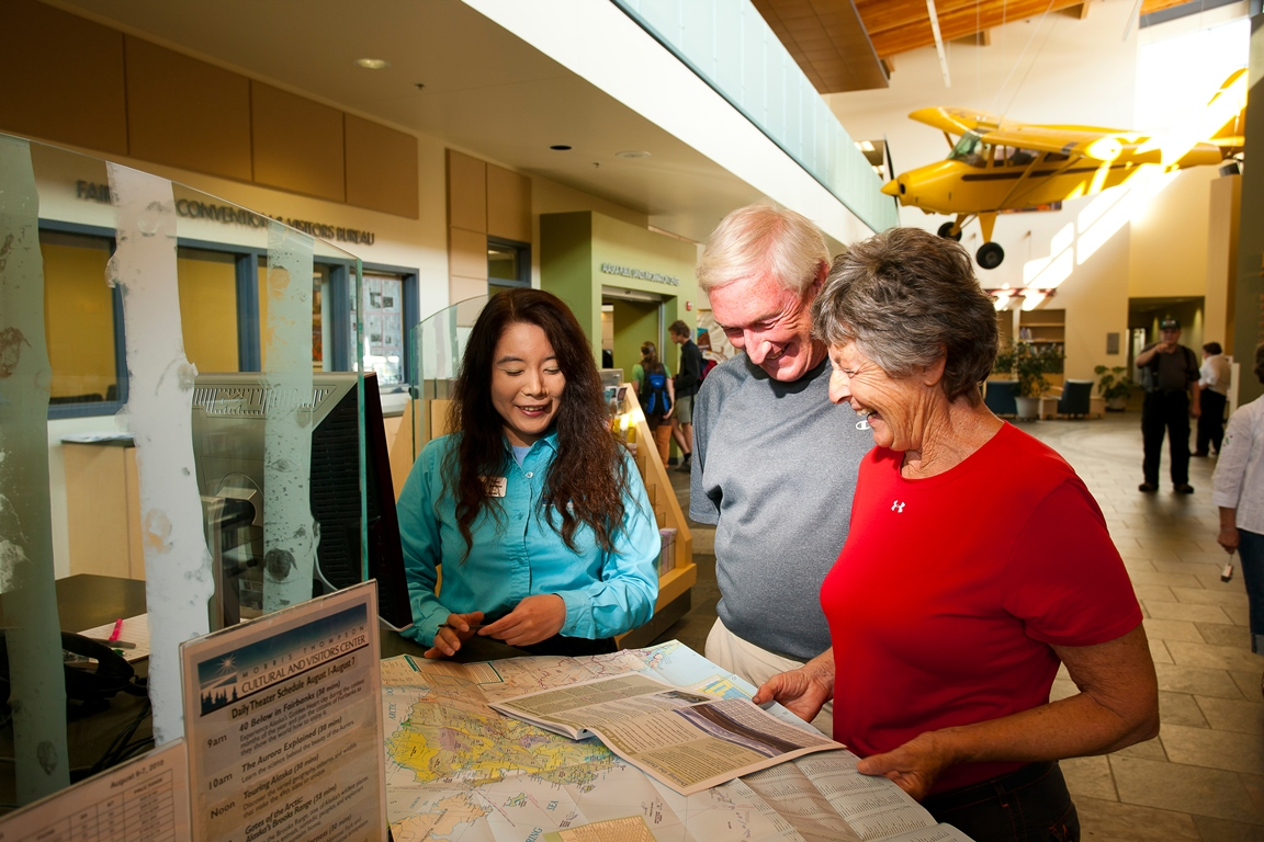 Visit the Fairbanks Convention and Visitors Bureau to get tips on what to see and do.