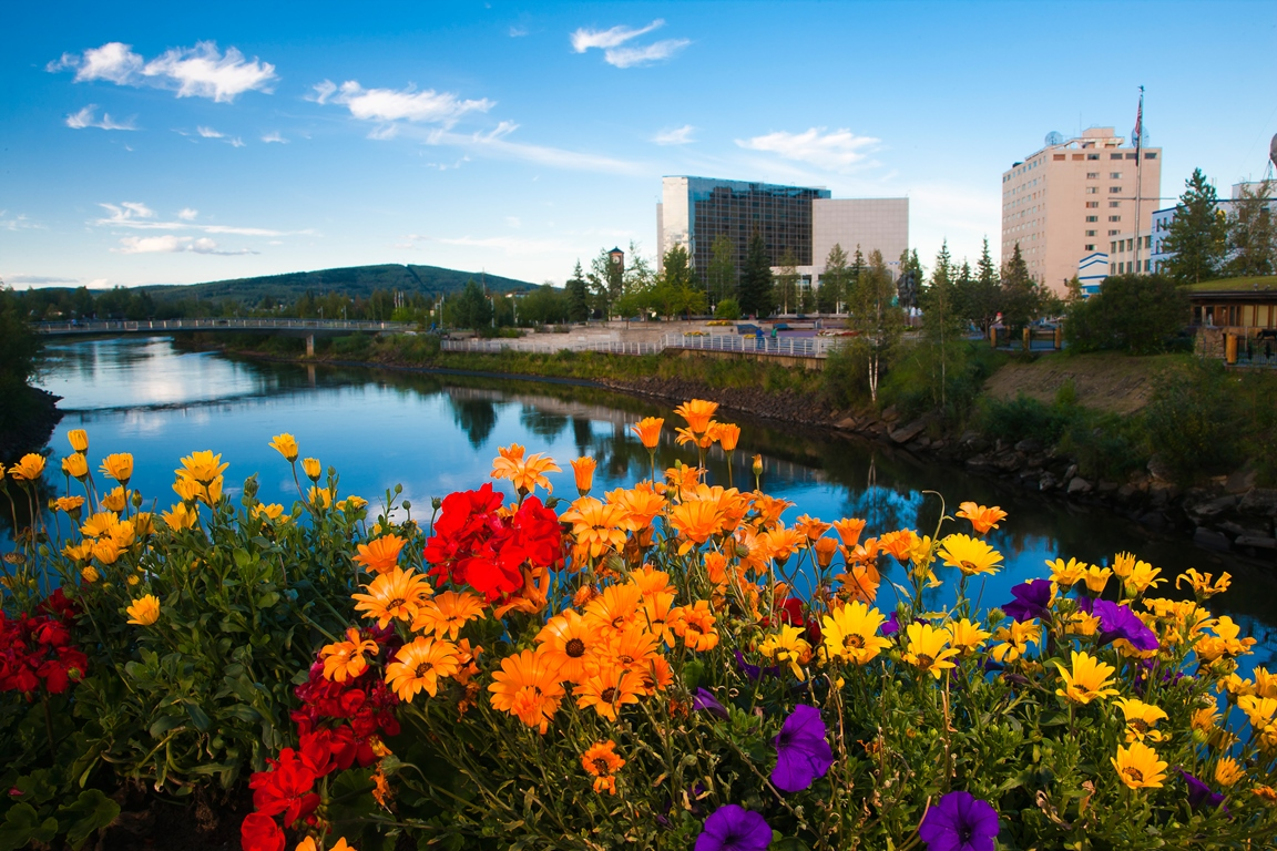 Fairbanks is full of activity options and set on the beautiful Chena River.