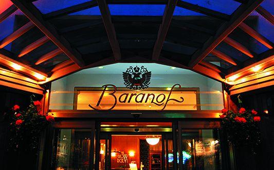 Baranof hotel entrance