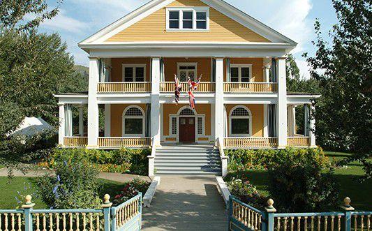 Commissioner's residence; Dawson City, Yukon