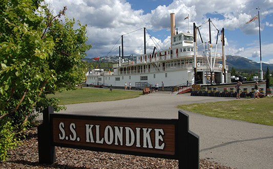 S.S. Klondike National Historic Site of Canada; Whitehorse