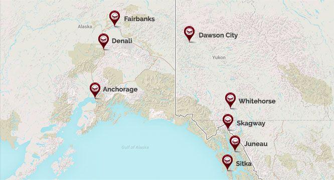 Hotels in Alaska - Hotels in Yukon - Westmark Hotels on ketchikan walking map, wasilla map, ketchikan alaska map, glacier bay alaska map, white pass alaska map, dawson city alaska map, whittier alaska map, palmer alaska map, tracy arm alaska map, sitka alaska map, dutch harbor alaska map, seward alaska map, juno alaska map, nulato alaska map, victoria bc map, hubbard glacier map, juneau map, unalakleet alaska map, kenai alaska map, north pole map,