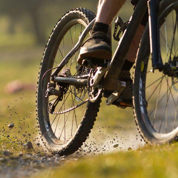 cycling singletrail