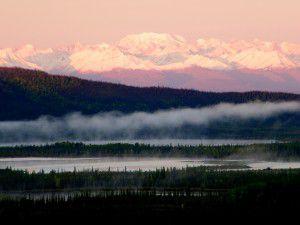 Mountain view near Beaver Creek on Westmark Hotels Alaska/Yukon