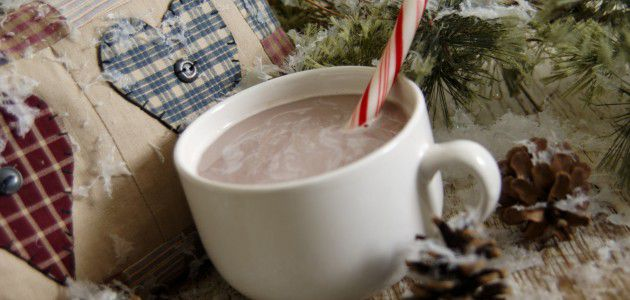 Hot Peppermint Cocoa