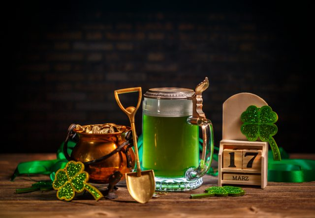green beer pot of gold