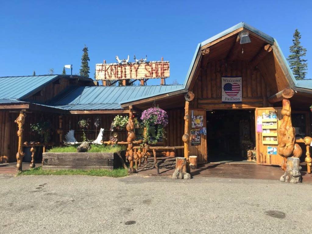 The Knotty Ship in Salcha features unique Alaska gifts and a wildlife museum